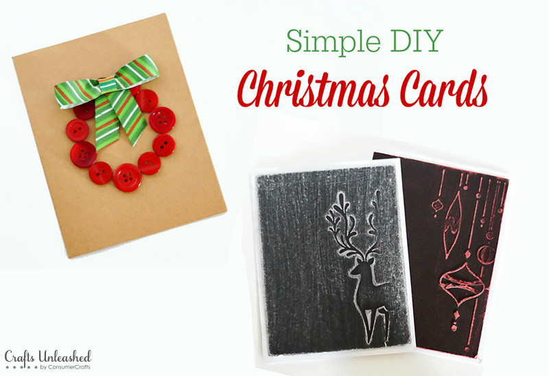 Best ideas about Easy DIY Christmas Cards . Save or Pin DIY Christmas Card Ideas Fun & Simple Crafts Unleashed Now.