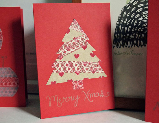 Best ideas about Easy DIY Christmas Cards . Save or Pin 12 Beautiful Diy & Homemade Christmas Card Ideas Now.