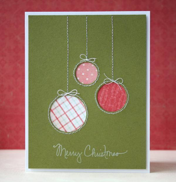 Best ideas about Easy DIY Christmas Cards . Save or Pin 5 Ideas for Easy DIY Christmas Cards – Scrap Booking Now.