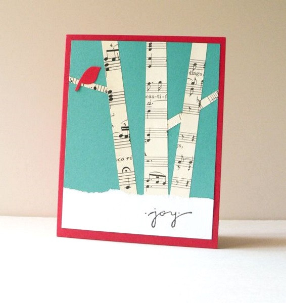 Best ideas about Easy DIY Christmas Cards . Save or Pin Creative DIY Christmas Card Ideas 2016 Pink Lover Now.