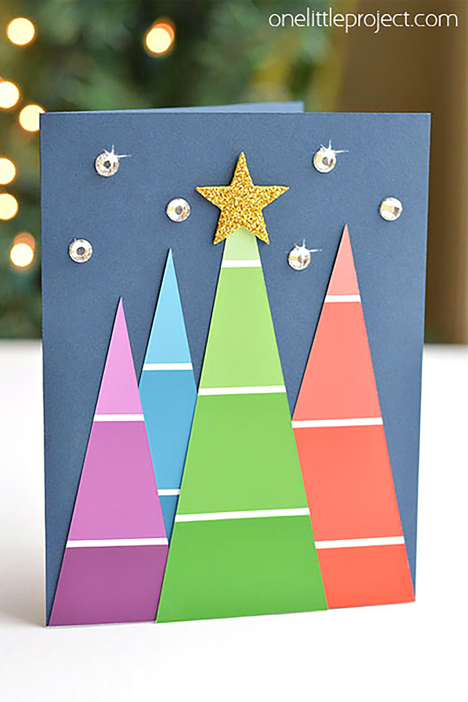 Best ideas about Easy DIY Christmas Cards . Save or Pin 15 DIY Christmas Card Ideas Easy Homemade Christmas Now.