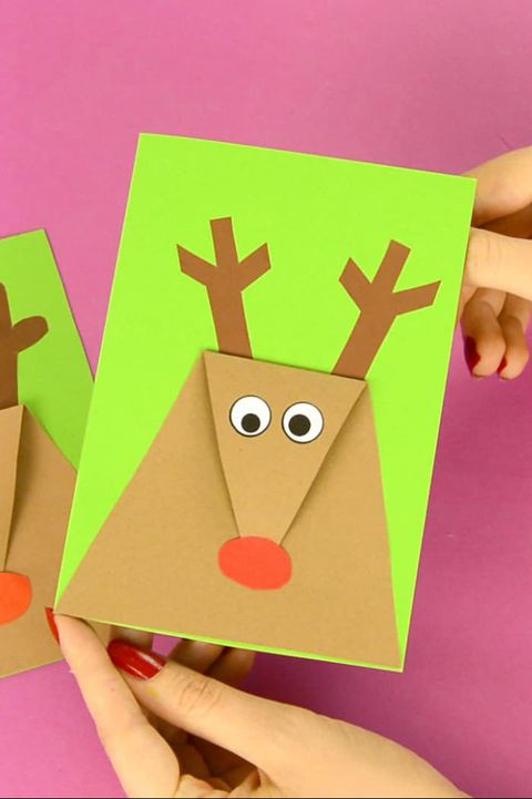 Best ideas about Easy DIY Christmas Cards . Save or Pin 36 DIY Christmas Cards How to Make Homemade Holiday Cards Now.
