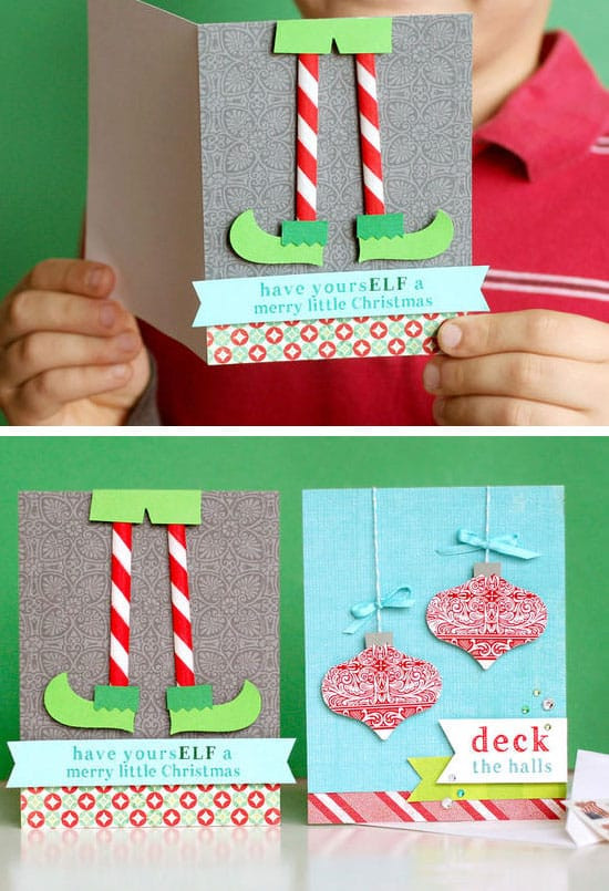 Best ideas about Easy DIY Christmas Cards . Save or Pin Make Your Own Creative DIY Christmas Cards This Winter Now.