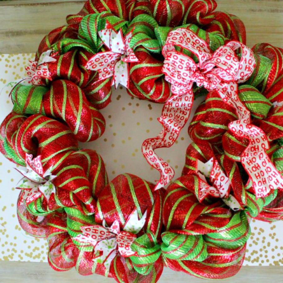Best ideas about Easy DIY Christmas Wreaths . Save or Pin easy Christmas Wreath tutorial Fresh Idea Studio Now.