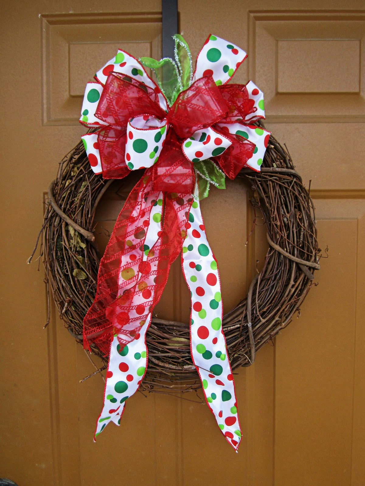 Best ideas about Easy DIY Christmas Wreaths . Save or Pin Food Love & Life diy easy christmas wreath Now.