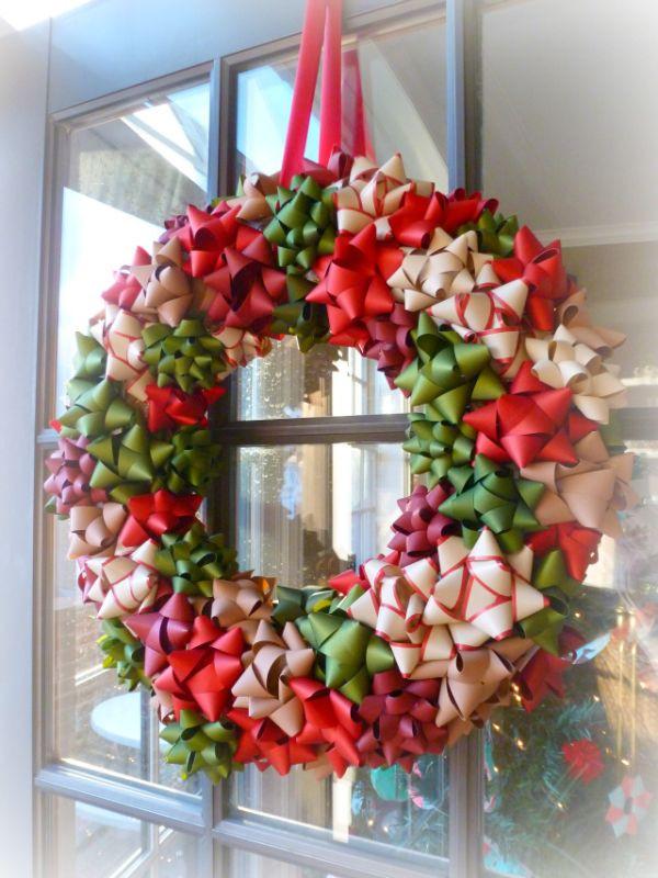 Best ideas about Easy DIY Christmas Wreaths . Save or Pin 22 Beautiful and Easy DIY Christmas Wreath Ideas Now.