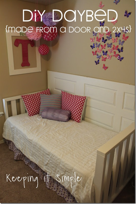 Best ideas about Easy DIY Daybed . Save or Pin Keeping it Simple Easy DIY Furniture DIY Daybed Made Now.