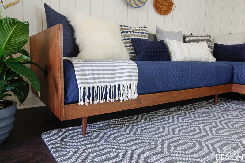 Best ideas about Easy DIY Daybed . Save or Pin Plywood Mid Century Daybed DIY Now.