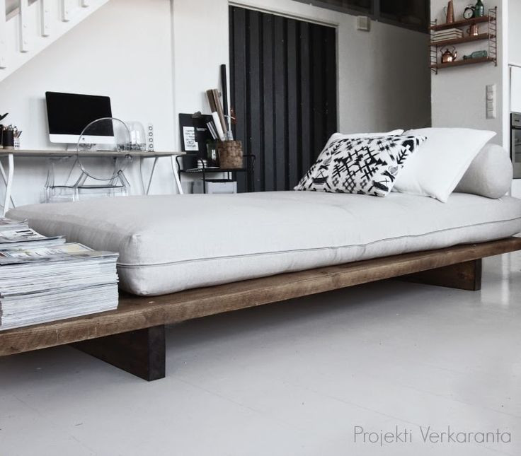 Best ideas about Easy DIY Daybed . Save or Pin PROJEKTI VERKARANTA SE ON VALMIS DIY DAYBED Now.