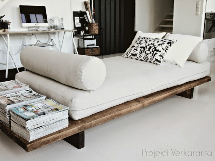 Best ideas about Easy DIY Daybed . Save or Pin SE ON VALMIS DIY DAYBED Now.
