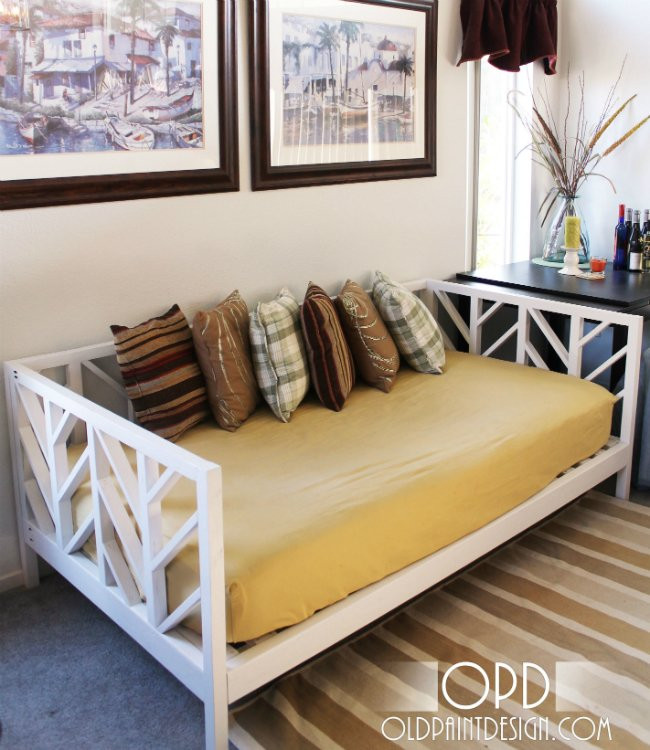 Best ideas about Easy DIY Daybed . Save or Pin DIY Daybed 5 Ways to Make Your Own Bob Vila Now.