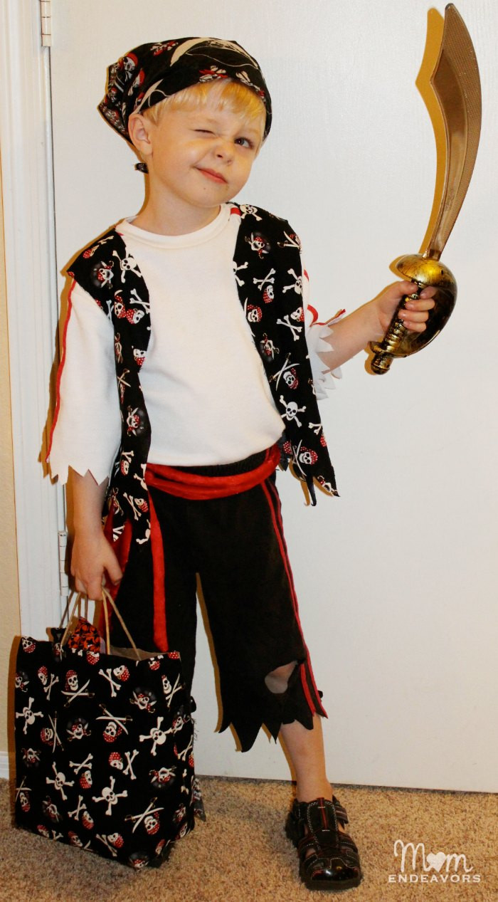 Best ideas about Easy DIY Pirate Costumes . Save or Pin Quick & Easy DIY Pirate Halloween Costume Now.