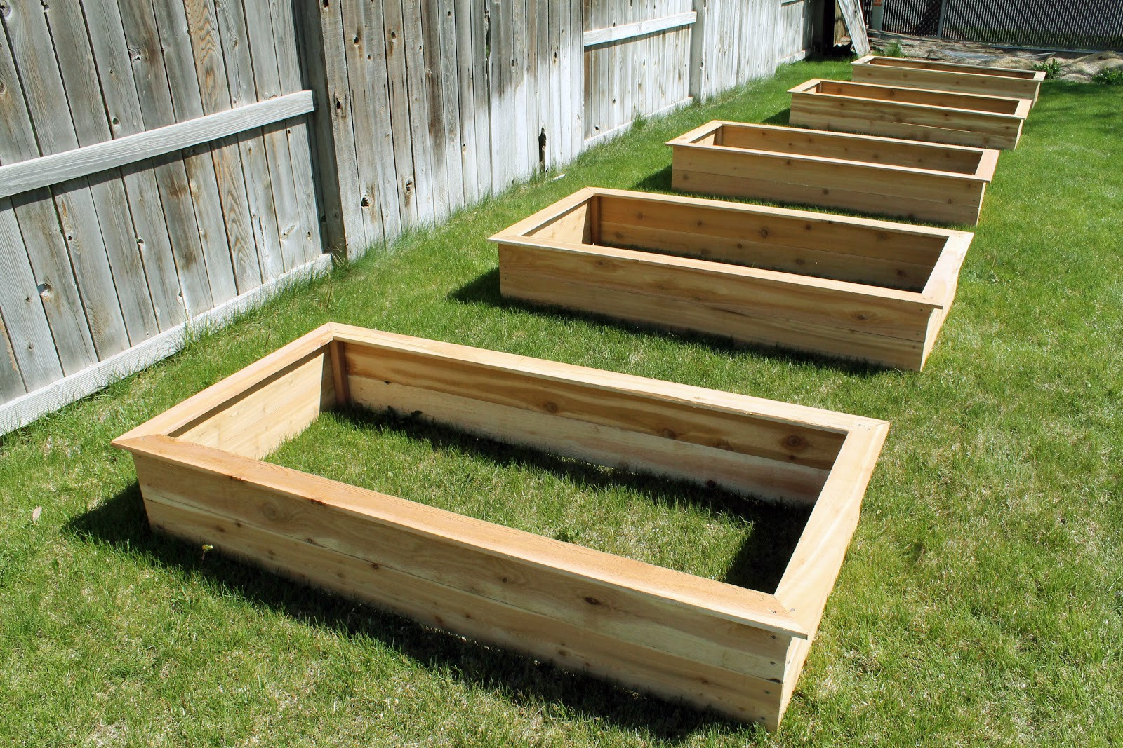 Best ideas about Easy DIY Raised Garden Bed . Save or Pin Our DIY Raised Garden Beds Chris Loves Julia Now.