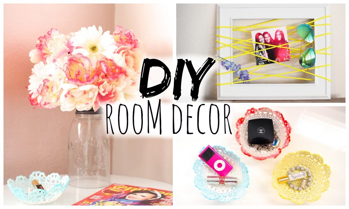 Best ideas about Easy DIY Room Decor . Save or Pin DIY Room Decor for Cheap Simple & Cute Now.