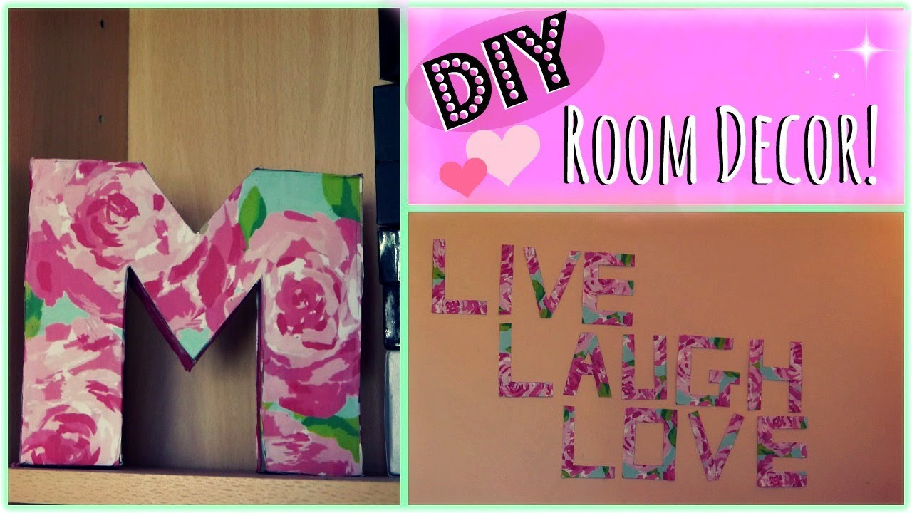 Best ideas about Easy DIY Room Decor . Save or Pin DIY 2 Easy Room Decor Ideas ♡ Now.