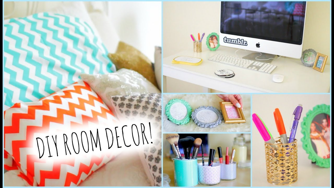 Best ideas about Easy DIY Room Decor . Save or Pin DIY Room Decorations for Cheap How to stay Organized Now.