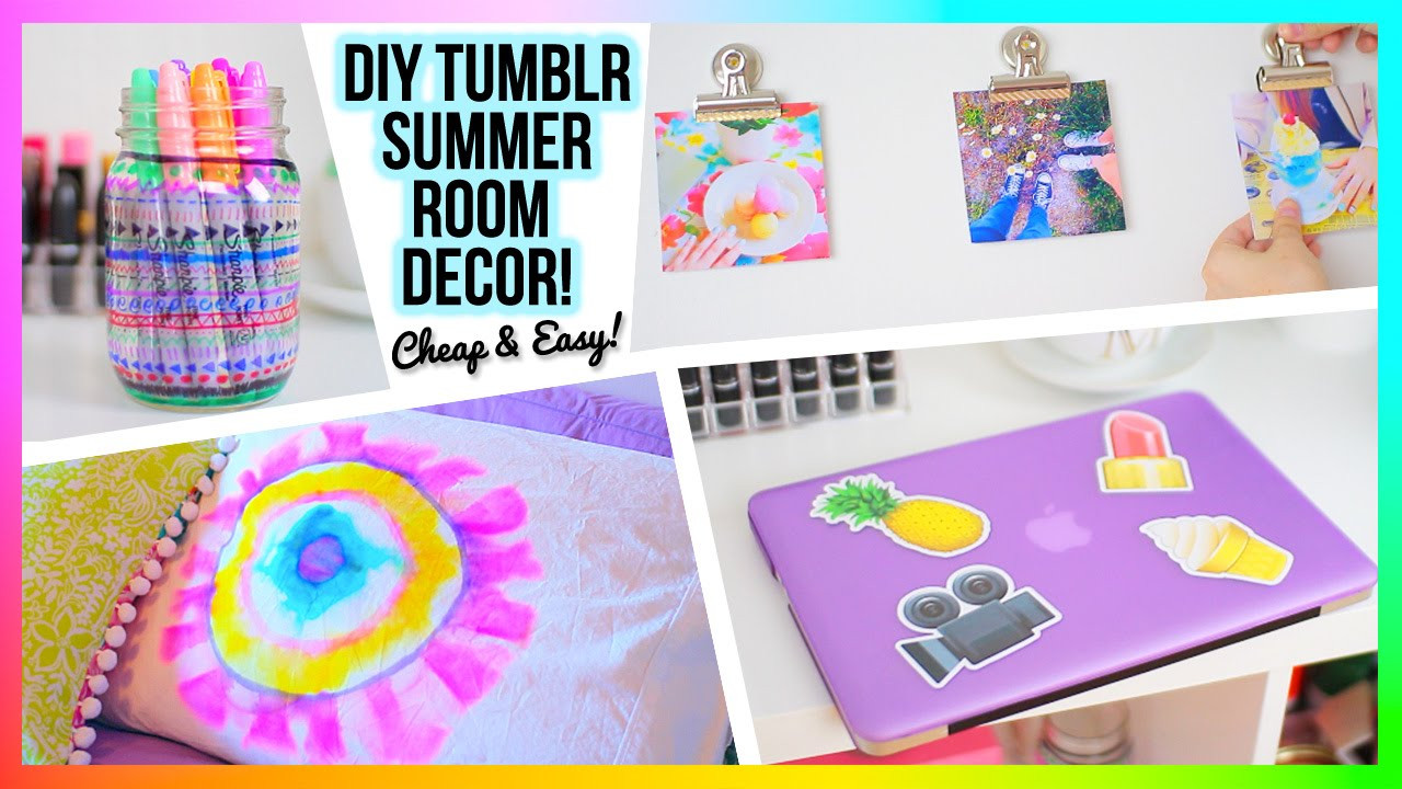 Best ideas about Easy DIY Room Decor . Save or Pin DIY Tumblr Room Decor Now.