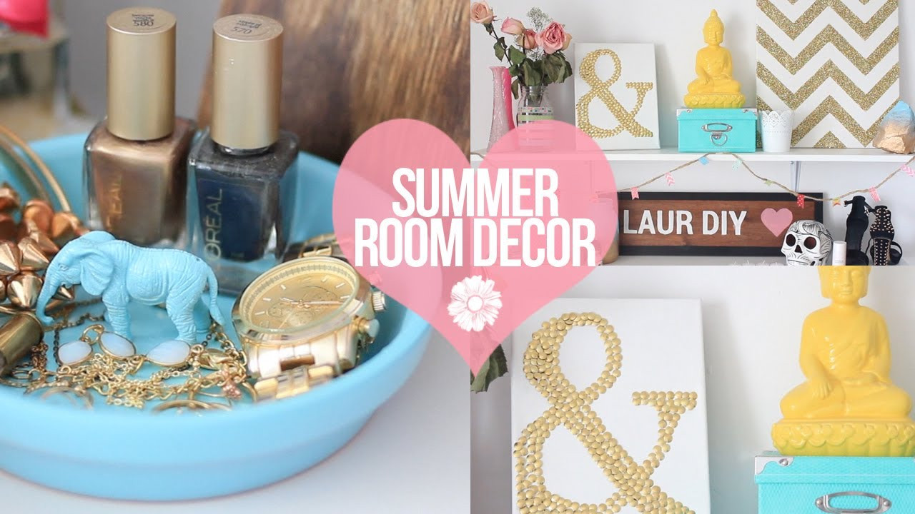 Best ideas about Easy DIY Room Decor . Save or Pin DIY Easy Summer Room Decor Now.