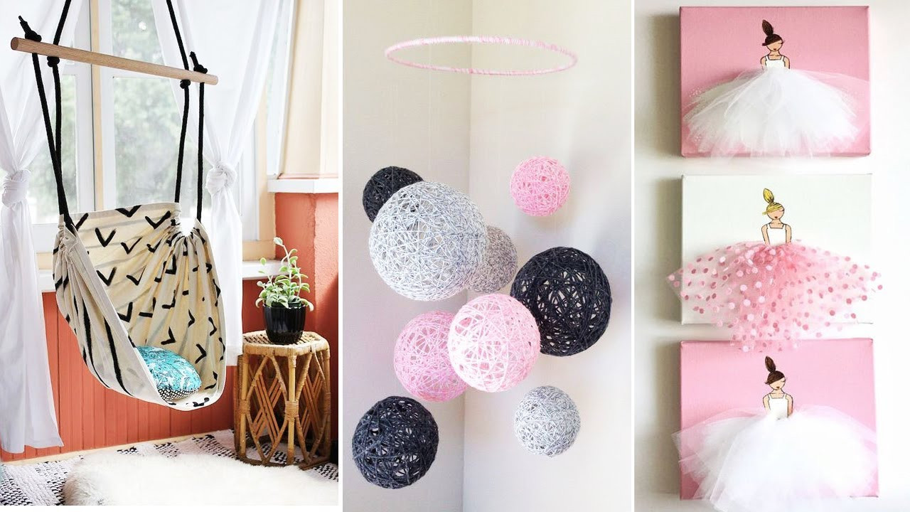Best ideas about Easy DIY Room Decor . Save or Pin DIY Room Decor 15 Easy Crafts at Home Diy Ideas for Now.