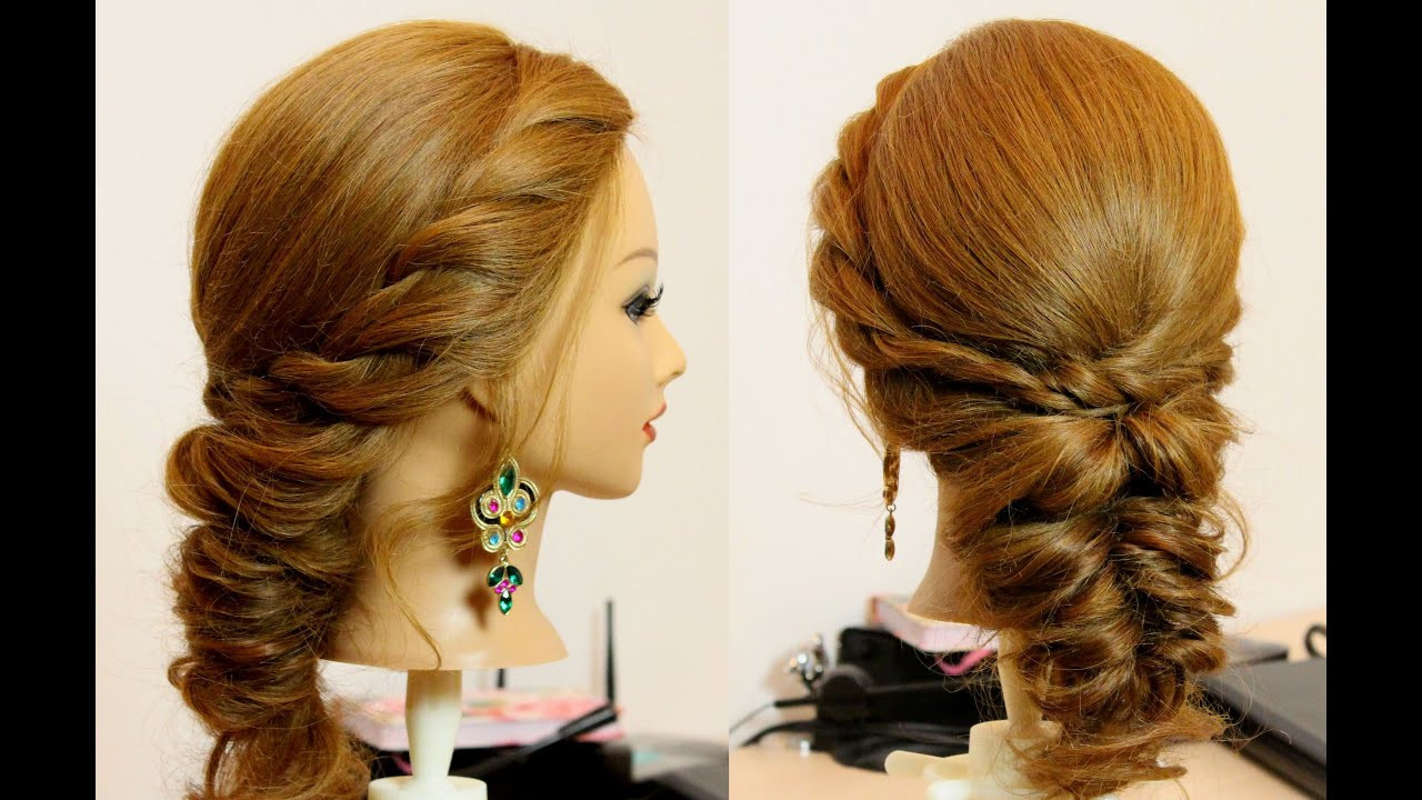 Best ideas about Easy Everyday Hairstyle . Save or Pin Easy everyday hairstyle for long medium hair tutorial Now.