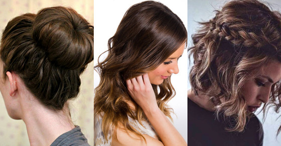 Best ideas about Easy Everyday Hairstyle . Save or Pin 15 Easy Everyday Hairstyles to Try Hair Bow Now.