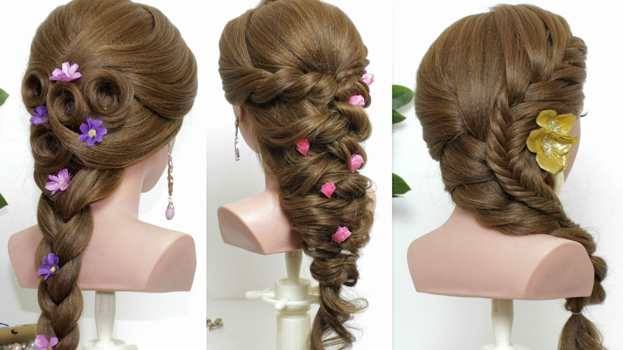 Best ideas about Easy Hairstyle Video . Save or Pin 3 easy hairstyles for long hair tutorial Now.