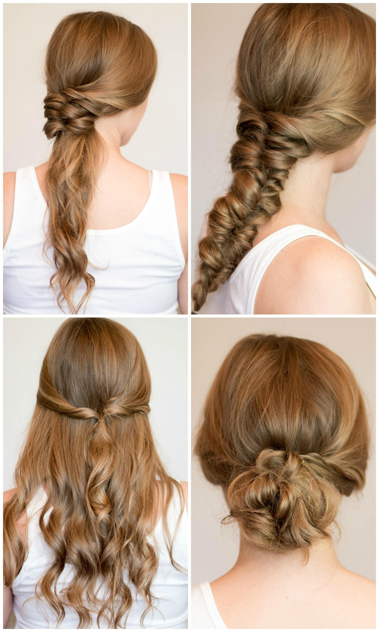 Best ideas about Easy Hairstyle Video . Save or Pin Easy Heatless Hairstyles for Long Hair Now.