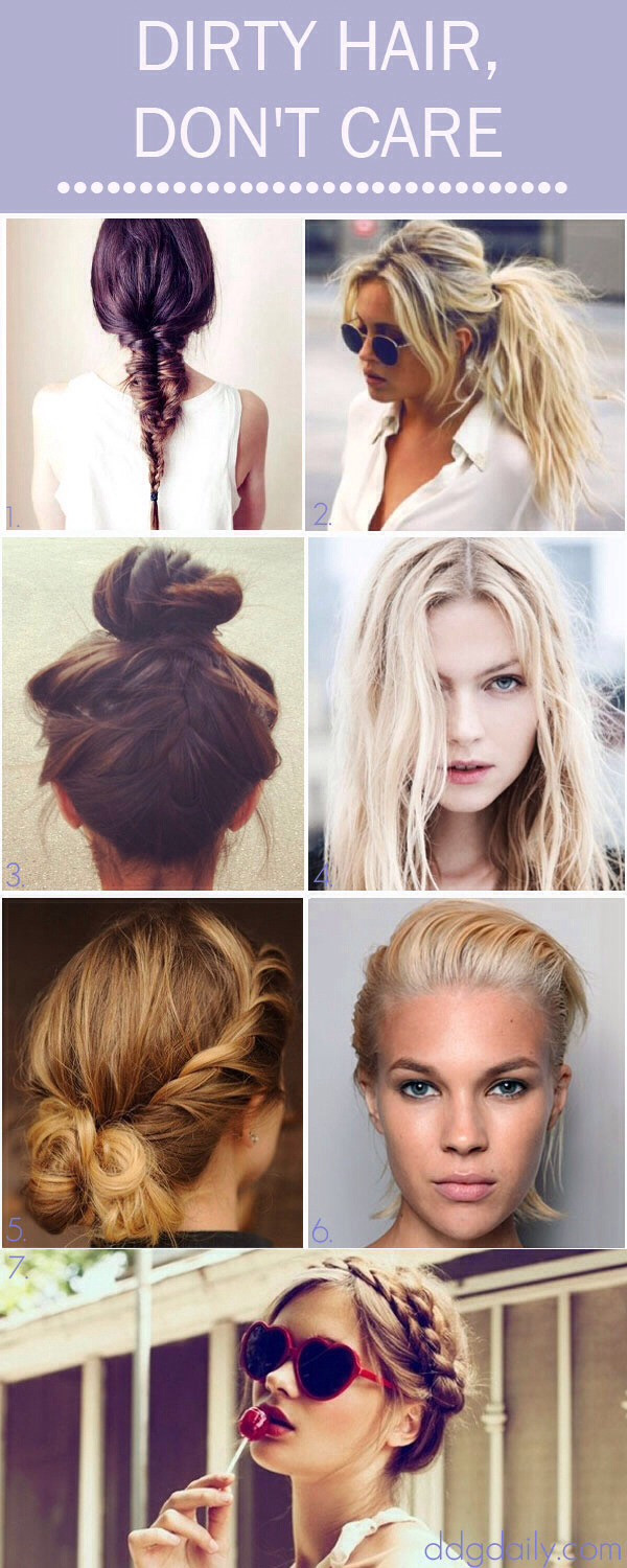 Best ideas about Easy Hairstyles For Dirty Hair . Save or Pin Quick Hair Bow Remember To Touch Three Dots At Bottom Now.