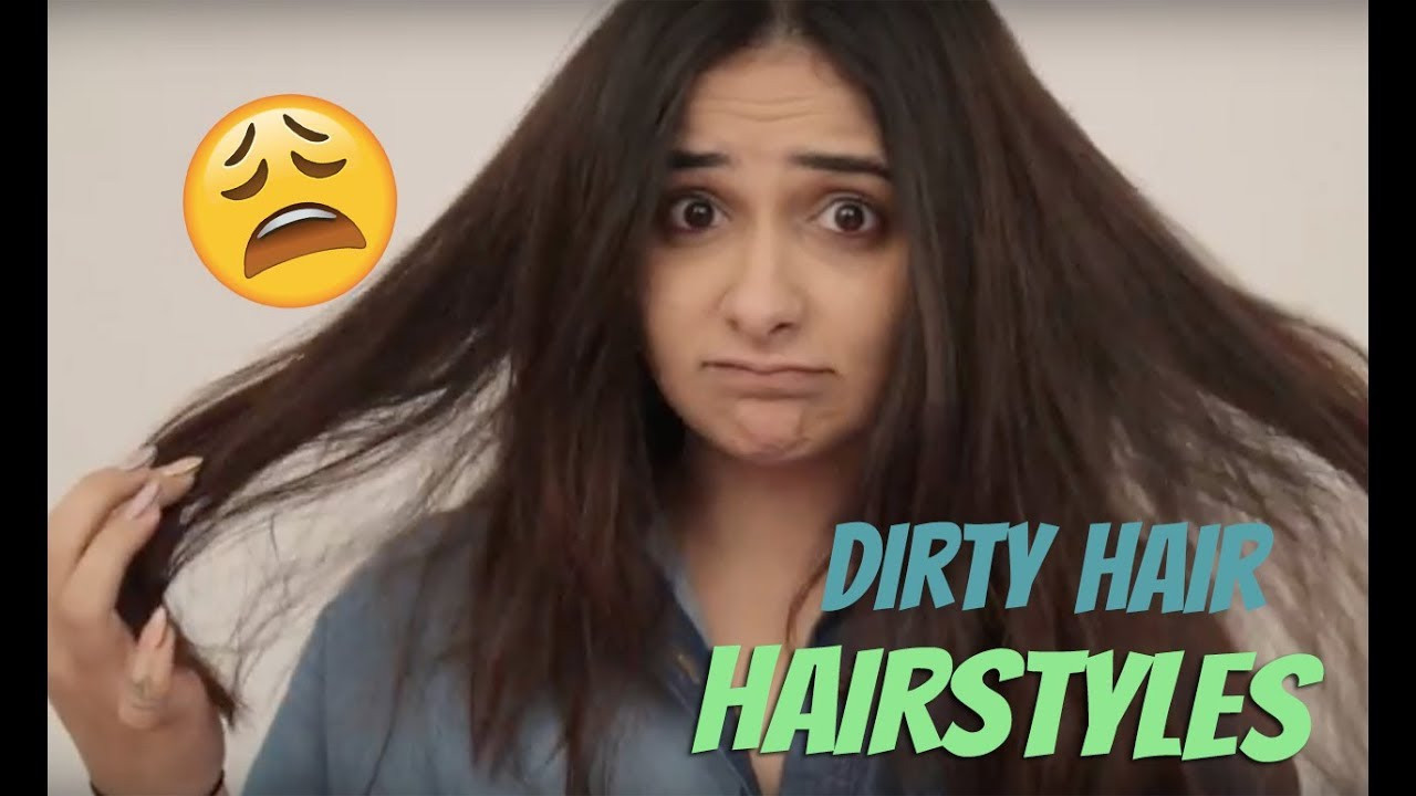 Best ideas about Easy Hairstyles For Dirty Hair . Save or Pin Easy Hairstyles For Dirty Hair Now.