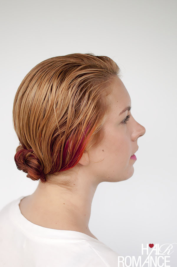 Best ideas about Easy Hairstyles For Wet Hair . Save or Pin Get ready fast with 7 easy hairstyle tutorials for wet Now.