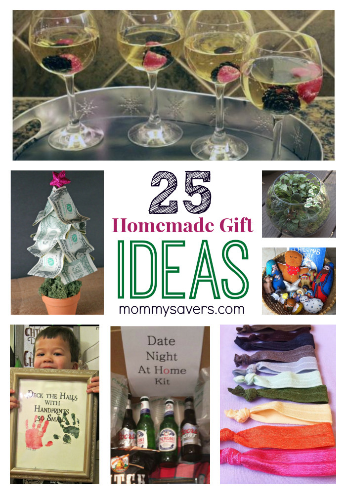Best ideas about Easy Homemade Gift Ideas . Save or Pin 25 Frugal Holiday Gift Ideas and Easy Homemade Gifts Now.