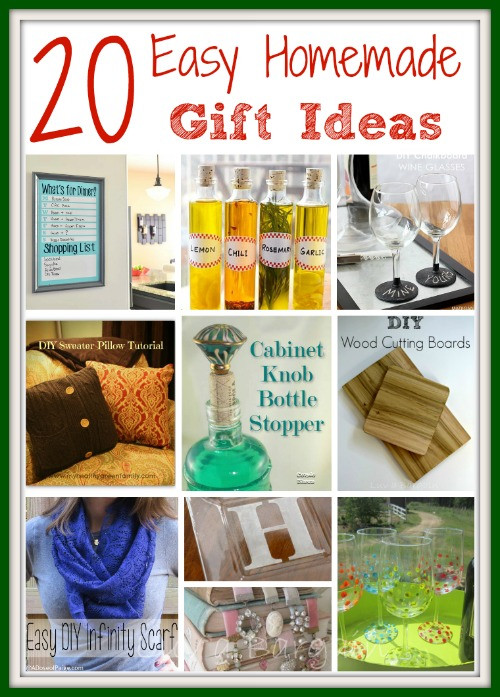 Best ideas about Easy Homemade Gift Ideas . Save or Pin Easy Homemade Gift Ideas Now.