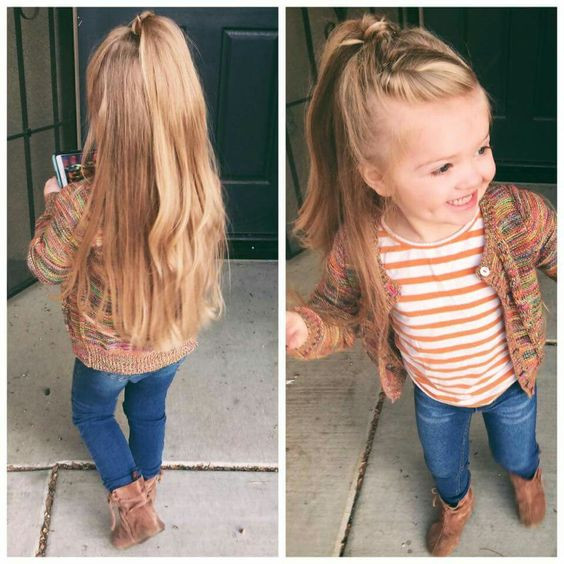 Best ideas about Easy Little Girl Hairstyles . Save or Pin 30 Cute And Easy Little Girl Hairstyles Ideas For Your Girl Now.
