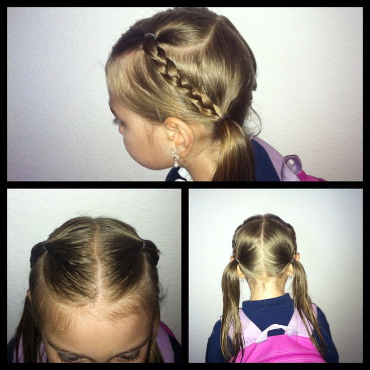 Best ideas about Easy Little Girl Hairstyles . Save or Pin Easy little girl hairstyle Kids Girls Hairstyle Now.