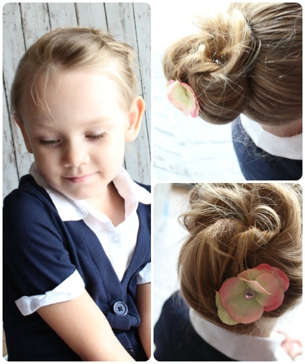 Best ideas about Easy Little Girl Hairstyles . Save or Pin 10 Fast & Easy Hairstyles For Little Girls Everyone Can Do Now.
