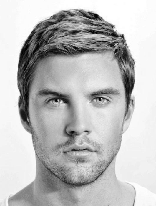 Best ideas about Easy Mens Hairstyles . Save or Pin 60 Short Hairstyles For Men With Thin Hair Fine Cuts Now.