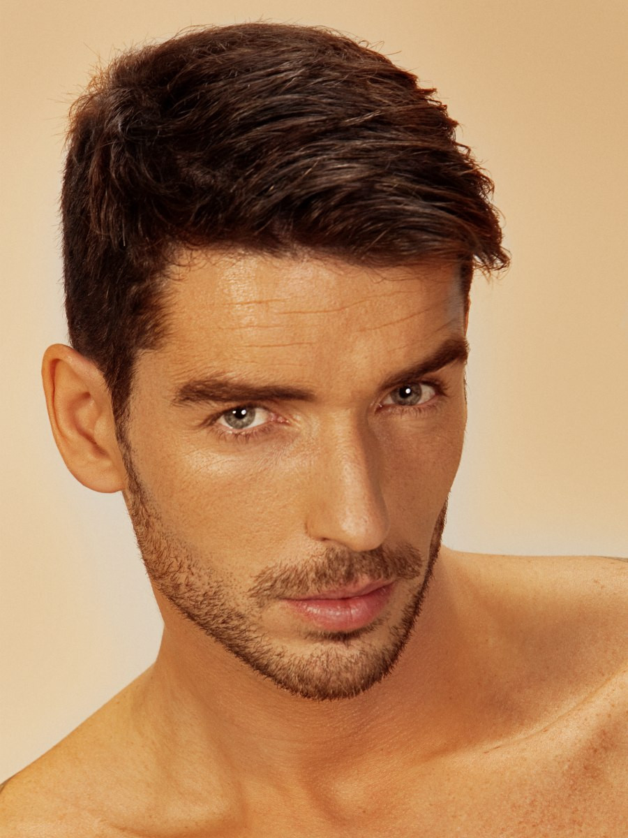 Best ideas about Easy Mens Hairstyles . Save or Pin François Truffaut look for men who want an easy to care Now.