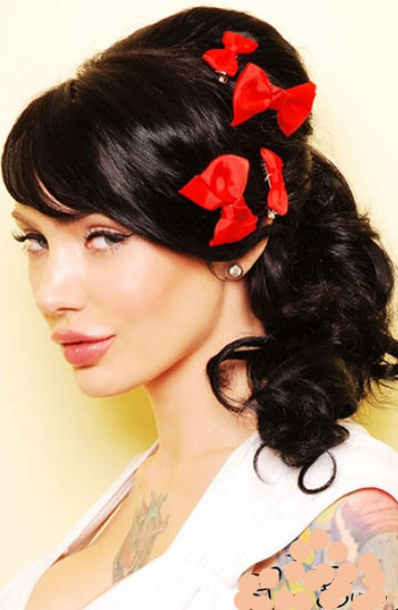 Best ideas about Easy Pinup Hairstyles . Save or Pin CUTE LONG HAIRCUTS PIN UP HAIRSTYLES FOR LONG HAIR CAN Now.