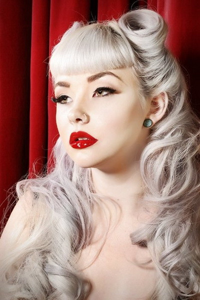 Best ideas about Easy Pinup Hairstyles . Save or Pin 15 Pin up hairstyles easy to make yve style Now.