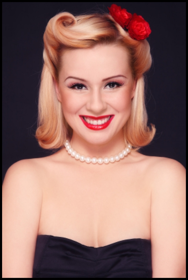 Best ideas about Easy Pinup Hairstyles . Save or Pin Easy Pin up Hairstyles for Medium Hair You Should Really Now.