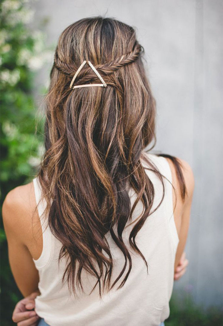 Best ideas about Easy Pretty Hairstyles . Save or Pin 20 Simple And Easy Hairstyles To Try Everyday Feed Now.