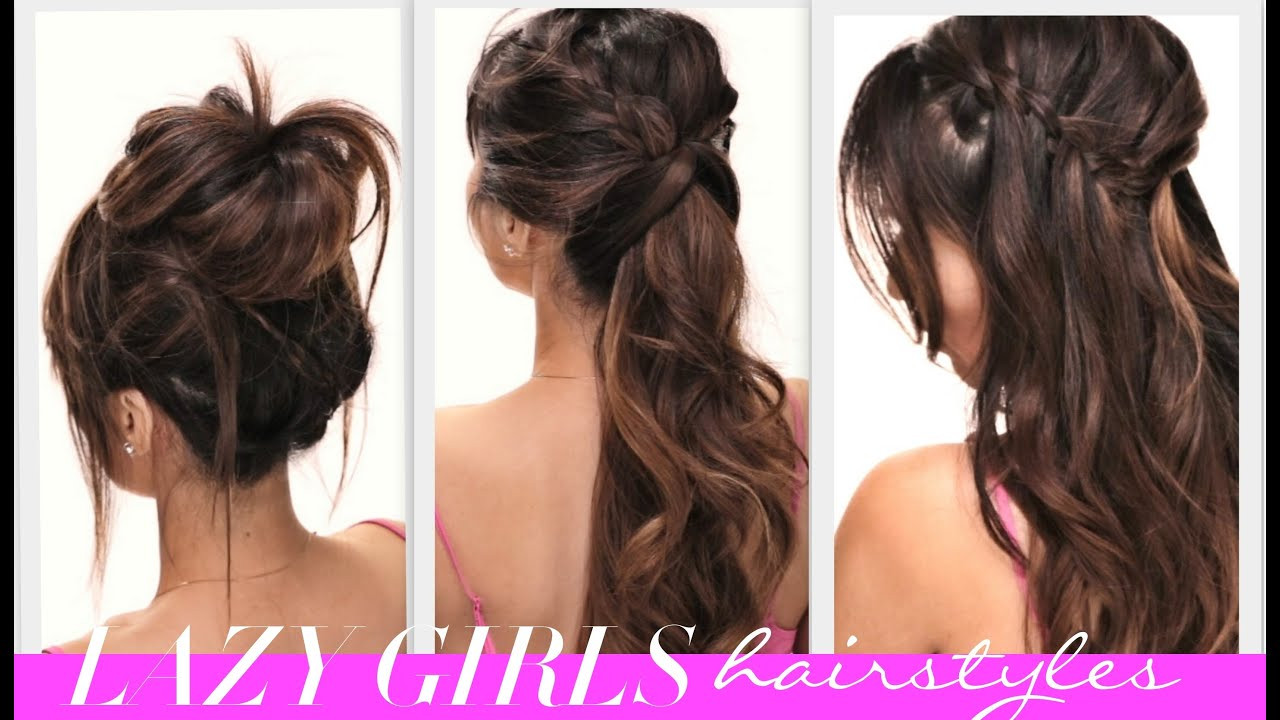 Best ideas about Easy Pretty Hairstyles . Save or Pin ★4 EASY Lazy Girls BACK TO SCHOOL HAIRSTYLES Now.