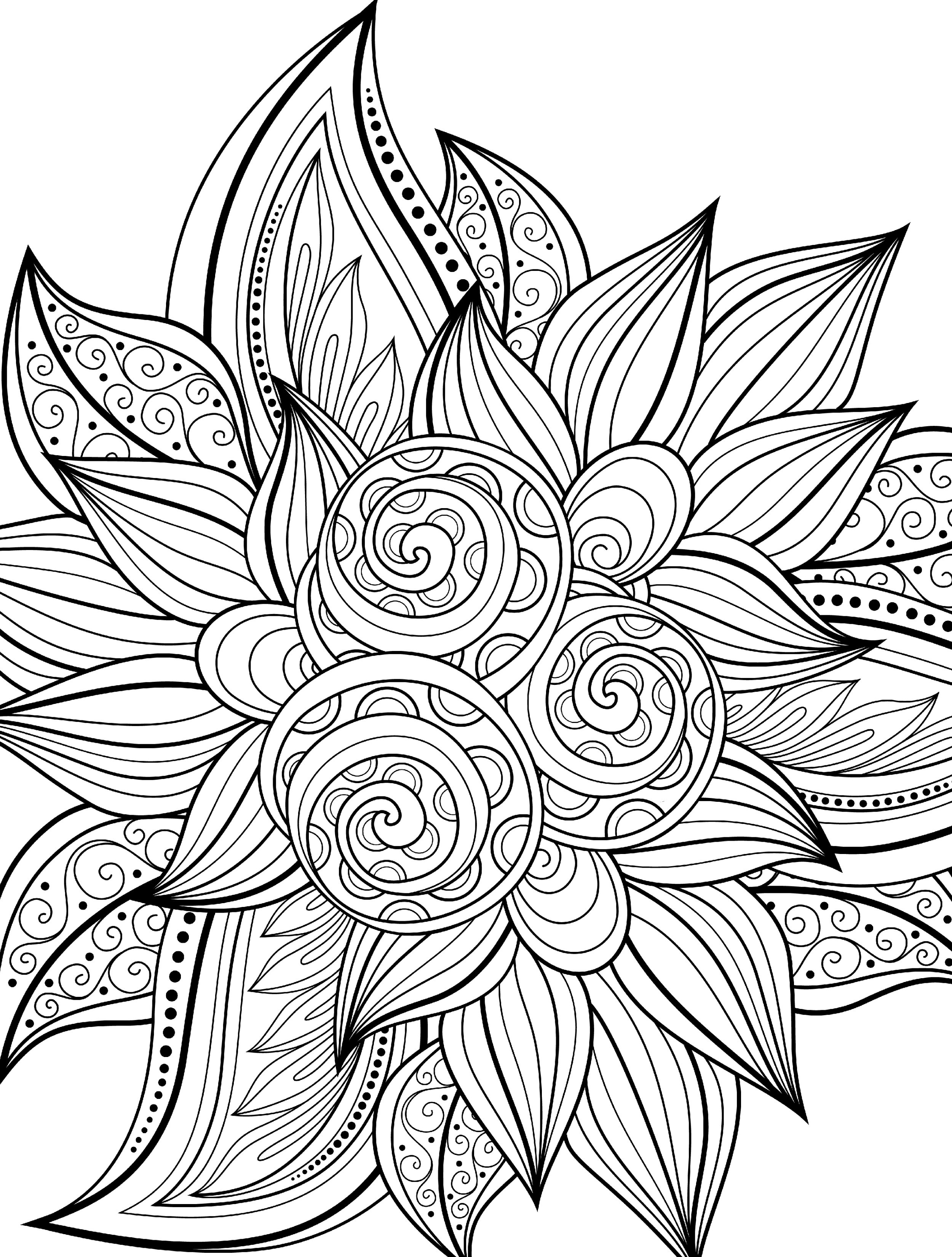 Best ideas about Easy Printable Coloring Pages For Adults . Save or Pin 10 Free Printable Holiday Adult Coloring Pages Now.