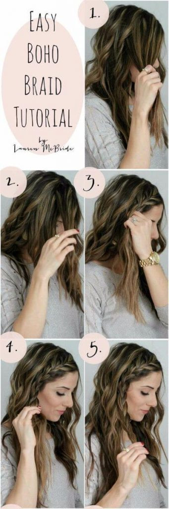 Best ideas about Easy School Hairstyles . Save or Pin 50 Unbelievably Easy Hairstyles for School Now.