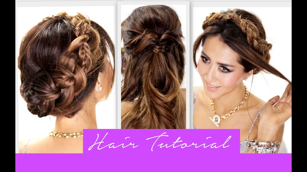 Best ideas about Easy School Hairstyles . Save or Pin 3 Amazingly EASY BACK TO SCHOOL HAIRSTYLES Now.