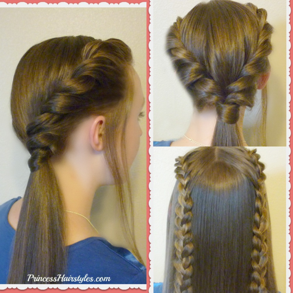Best ideas about Easy School Hairstyles . Save or Pin 3 Easy Back To School Hairstyles Part 2 Hairstyles For Now.