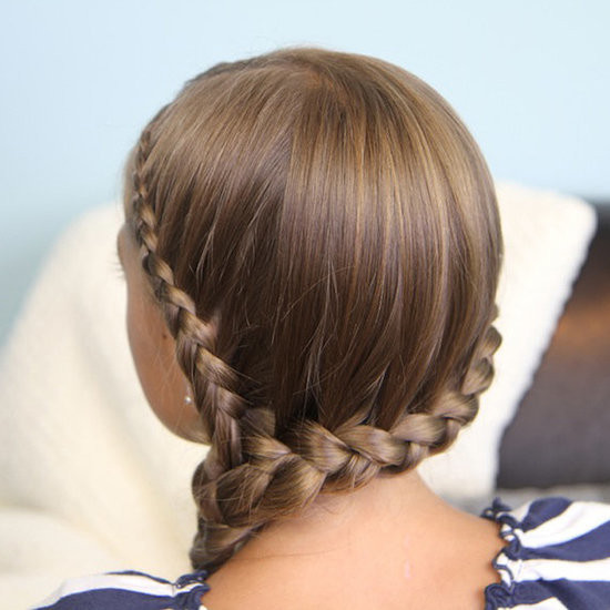 Best ideas about Easy School Hairstyles . Save or Pin How to Do a Side French Braid Now.
