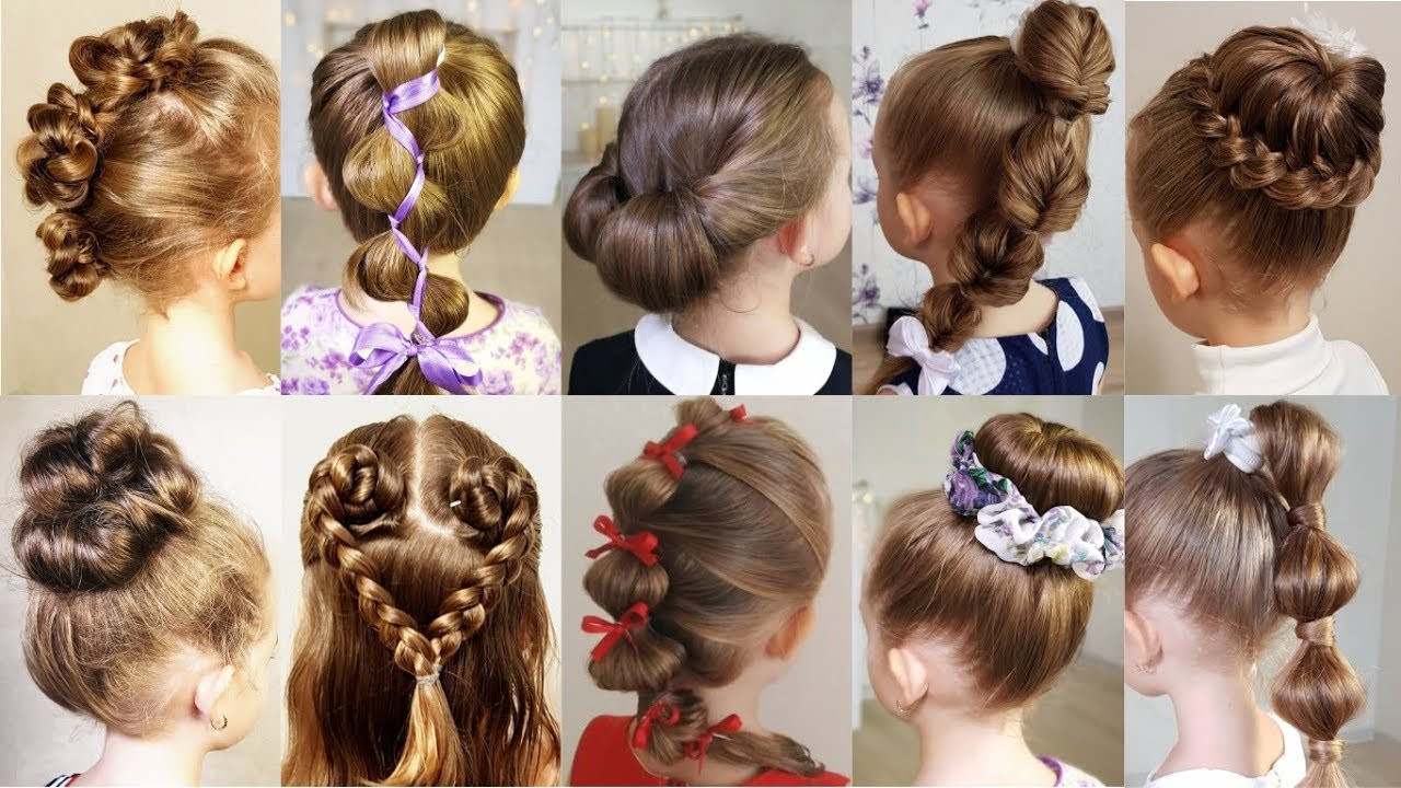 Best ideas about Easy School Hairstyles . Save or Pin 10 cute 1 MINUTE hairstyles for busy morning Quick & Easy Now.