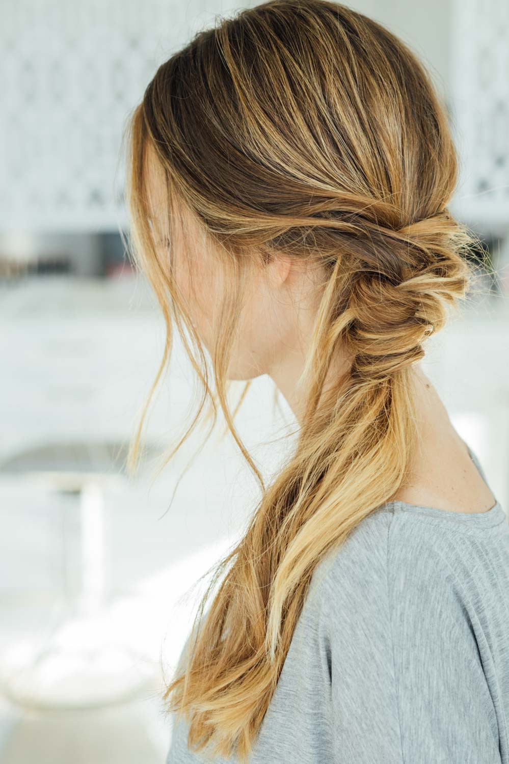 Best ideas about Easy To Style Haircuts . Save or Pin 16 Easy Hairstyles for Hot Summer Days Now.