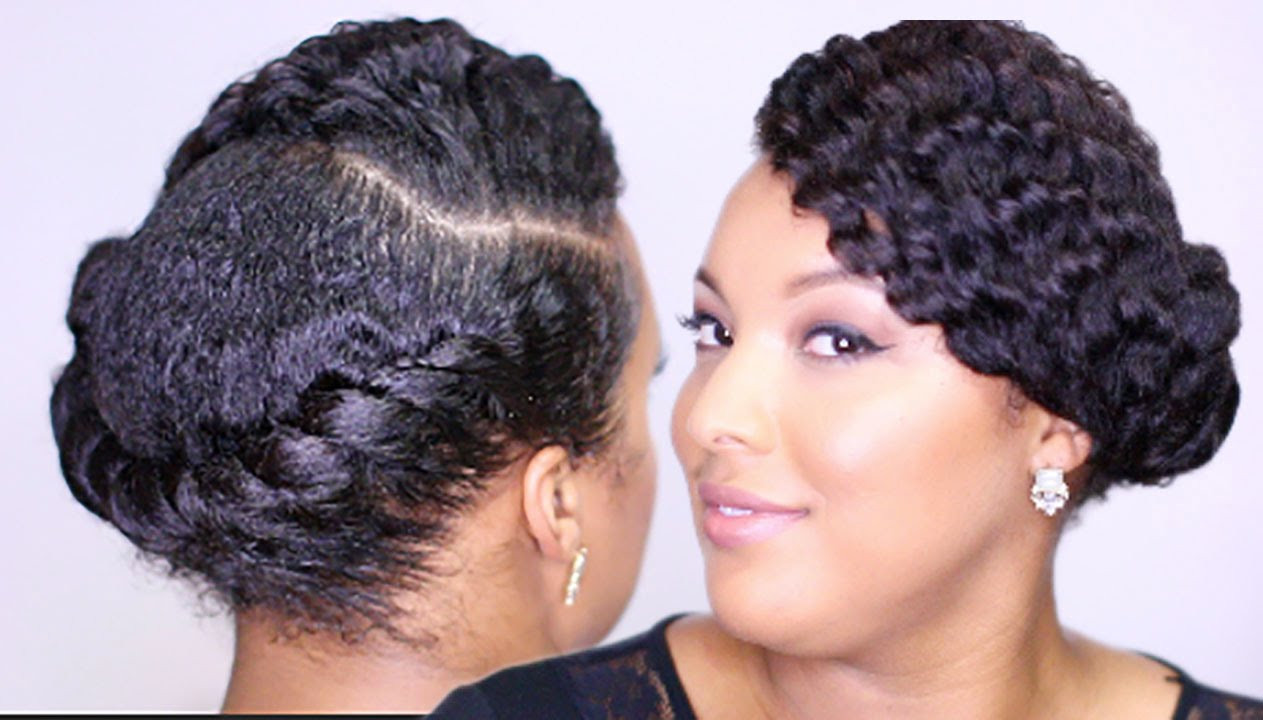 Best ideas about Easy Twist Hairstyles For Natural Hair . Save or Pin Sleek FLAT TWIST Updo Easy Everyday Protective Style Now.